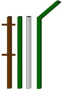 изготовление металлические столбы в Ставрополе